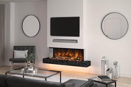 How to Create the Perfect Media Wall With a Fireplace