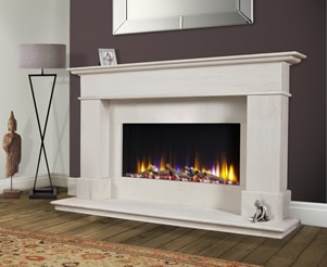 Deluxe Electric Fireplace Packages