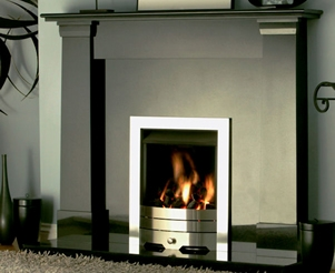 Black Granite Fireplace Packages