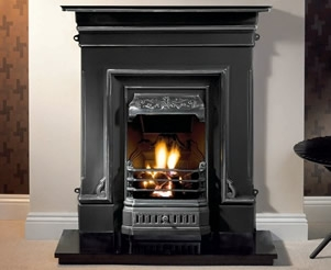 Cast Iron Fireplace Combinations