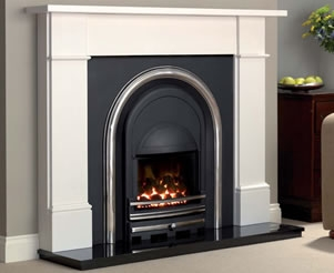 High Efficiency Cast Iron Fireplace Inserts