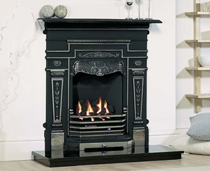 Cast Tec Combination Fireplaces