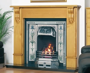 Cast Tec Fireplace Tiles