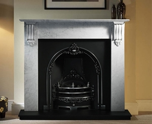 Traditional Marble Fireplace Packages