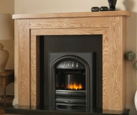 Walnut Fireplaces