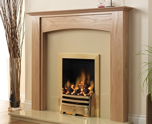 Wooden Fireplace Packages with Electric Fire