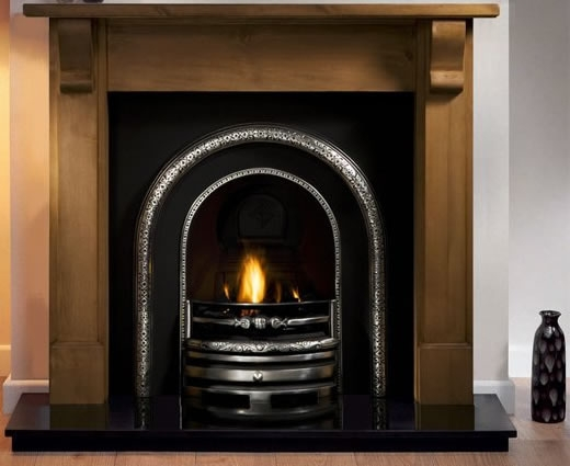 Wooden Fireplace Packages with Gas Fire
