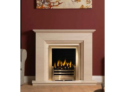 Gallery Collection Cranbourne Limestone Fireplace