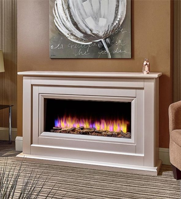 """Katell Delfina 57"""" Electric Fireplace 