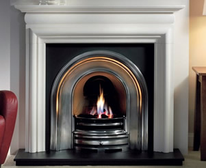 Agean Limestone Fireplaces